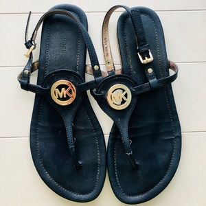 Michael Kors navy sandals!
